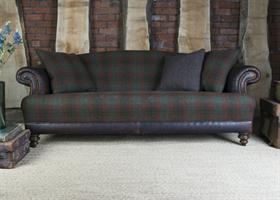 Tetrad Harris Tweed Taransay sofa Collection - Forest