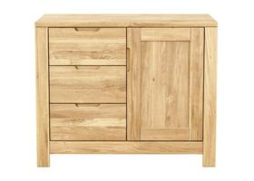 Lyon Small 3 Drawers/1 Door Sideboard