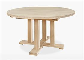 Quercia Round Extending Dining Table