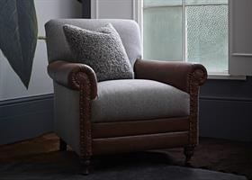 Alexander & James Bertie Accent Chair
