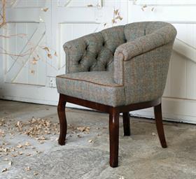 Tetrad Harris Tweed Cabriolet Chair