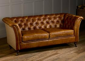 Caesar Sofa Collection - Traditional Camel