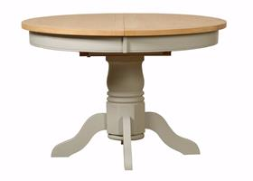 Bordeaux Round Extending Table