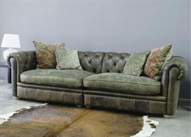 Alexander & James Franklin Leather Sofa Collection