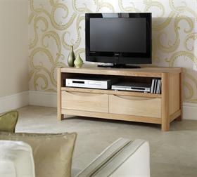 Stockholm 2 Drawer TV Cabinet