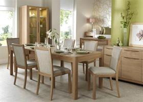 Stockholm Rectangular Extending Dining Table