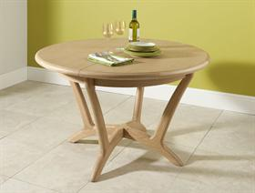 Stockholm Round Extending Dining Table