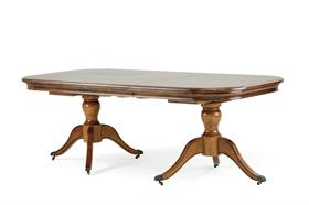 Lille Twin Pedestal Dining Table