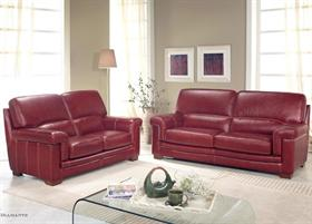 Bardi Diamante Leather Sofa Collection