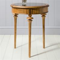 Spire Round Glass Table