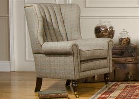 Tetrad Harris Tweed Dunmore Chair