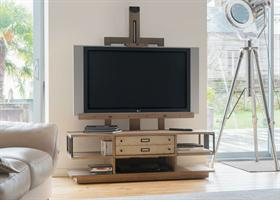 Industrial Easel TV Unit