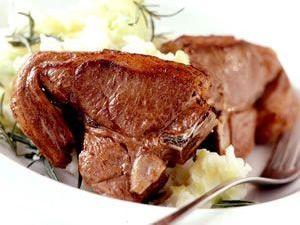 Minted Lamb Chops