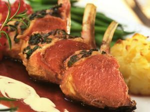 Minted Lamb Cutlets