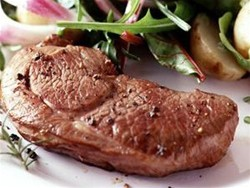 Minted Leg Lamb Steaks