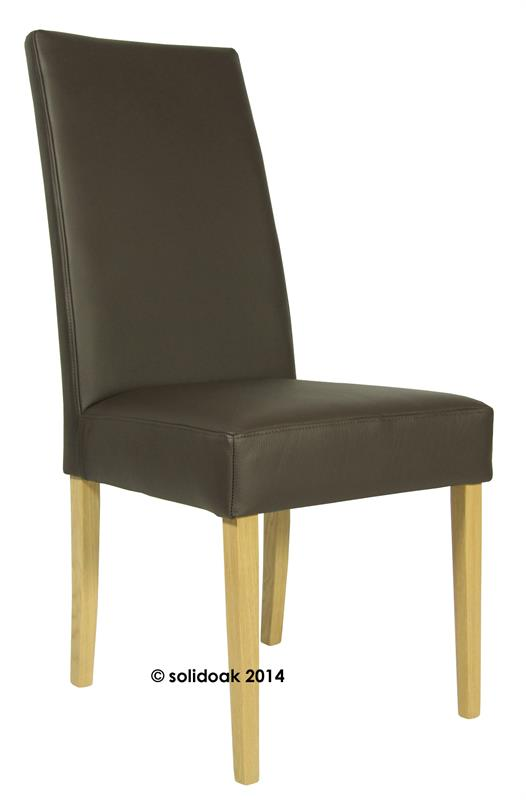 Vento Loose Cover High Back Fabric Dining Chair From