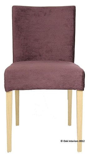 Sienna Low Back Loose Cover Fabric Dining Chair From