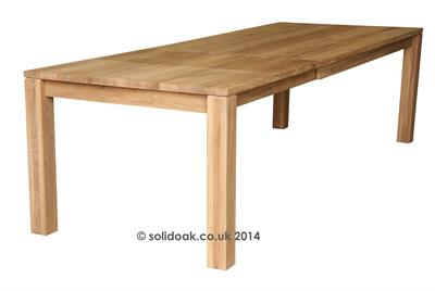 Livorno Large Solid Oak Extending Table