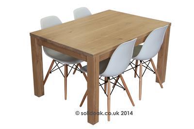Made to Measure Modern 4 Leg Extending Table