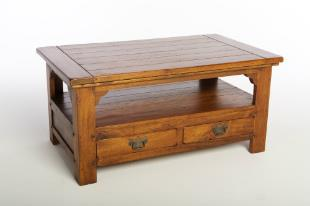 FRUIT WOOD - Coffee Table with 2 drawers.