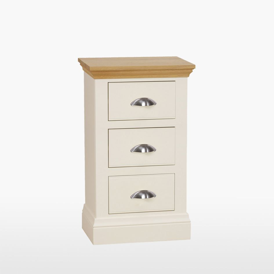 Coelo - 3 Drawer Bedside Chest - COL802