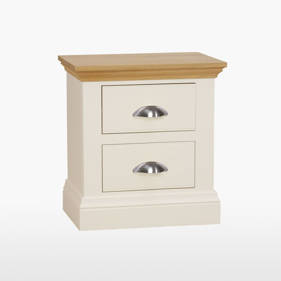 Coelo - Large 2 Drawer Bedside Chest - COL803