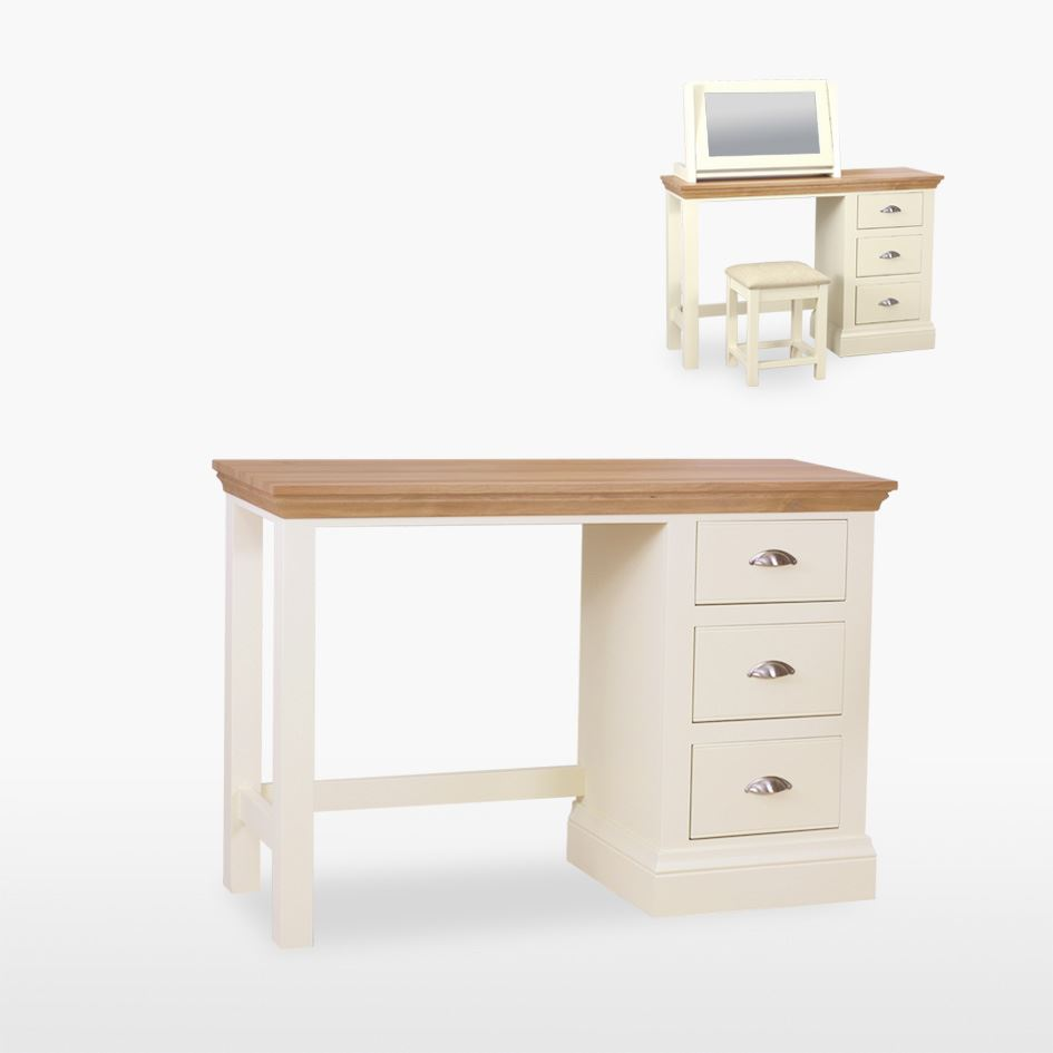 Coelo - Dressing Table - Single Pedestal - COL820