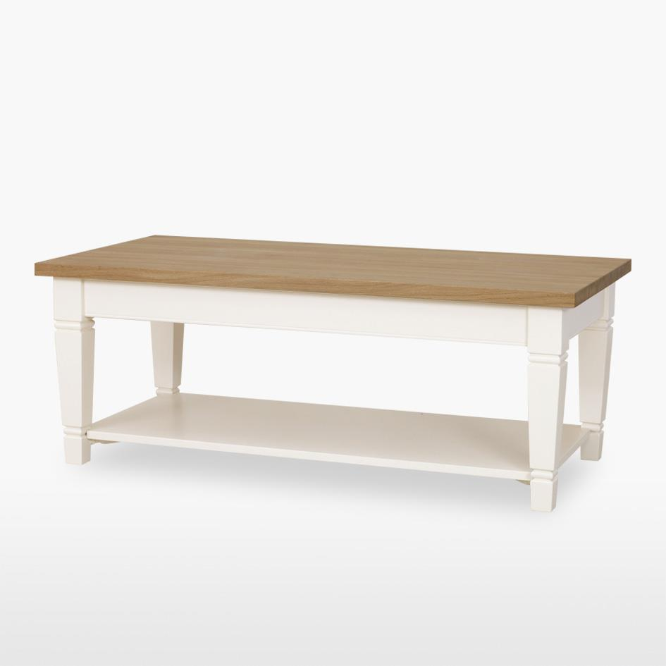 Coelo - Verona Long Coffee Table - Tapered Legs 117
