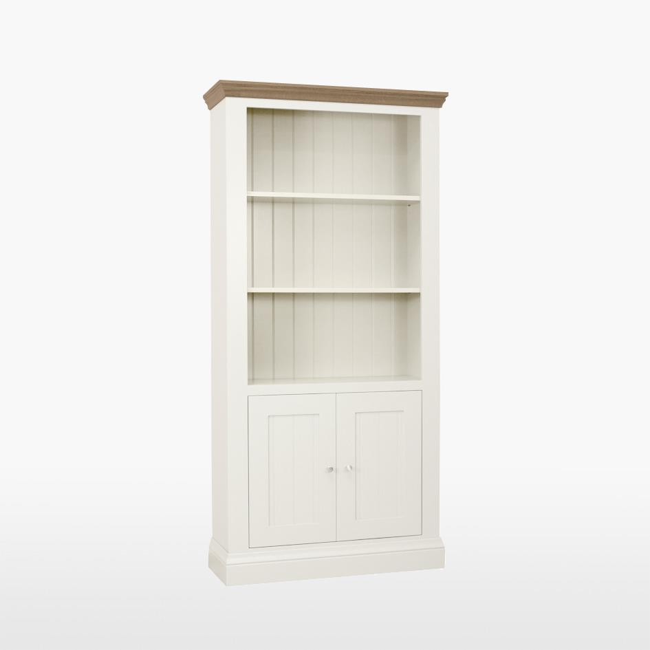 Coelo - Bookcase with 2 door cupboard.   505