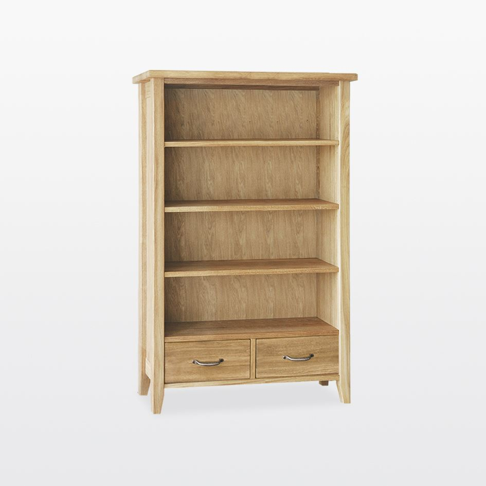 Windsor - Bookcase with 2 drawers - WIN4