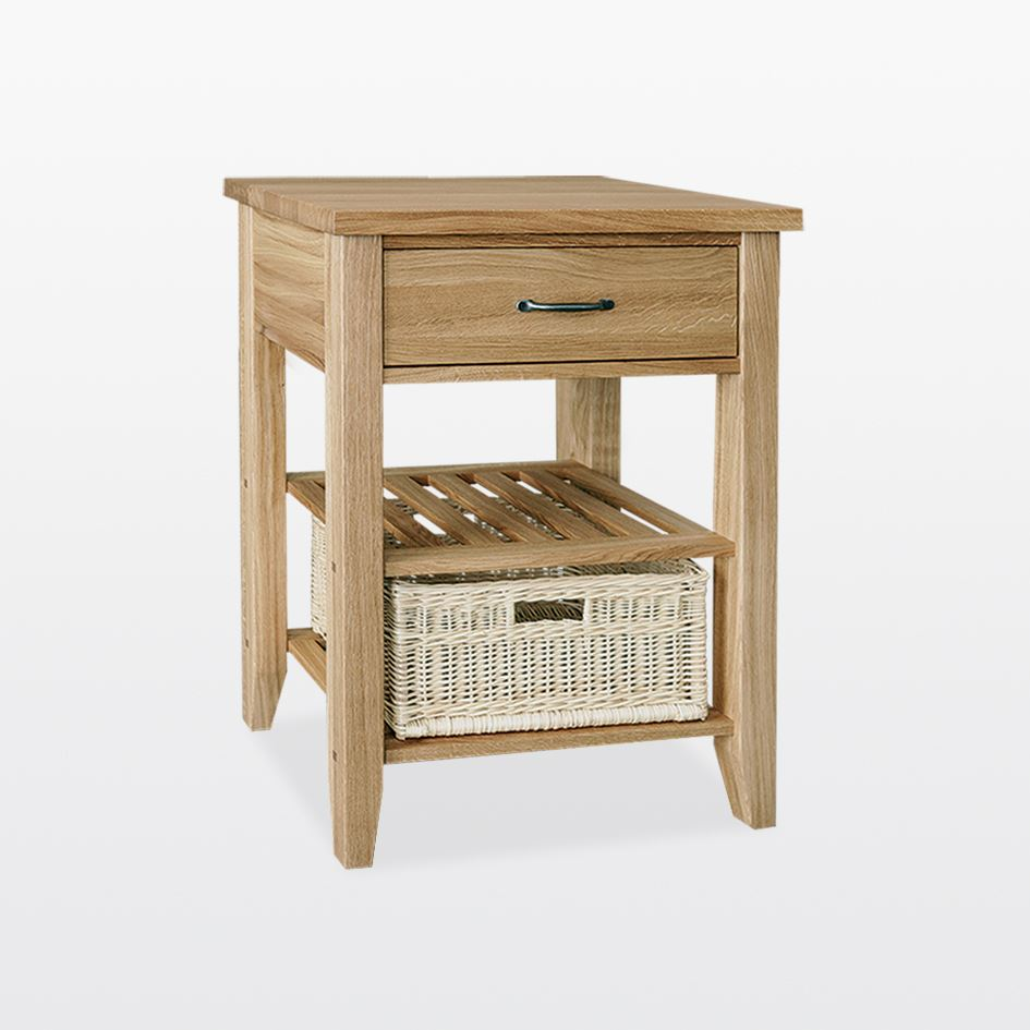 Windsor - Single Basket Console Table - WIN33