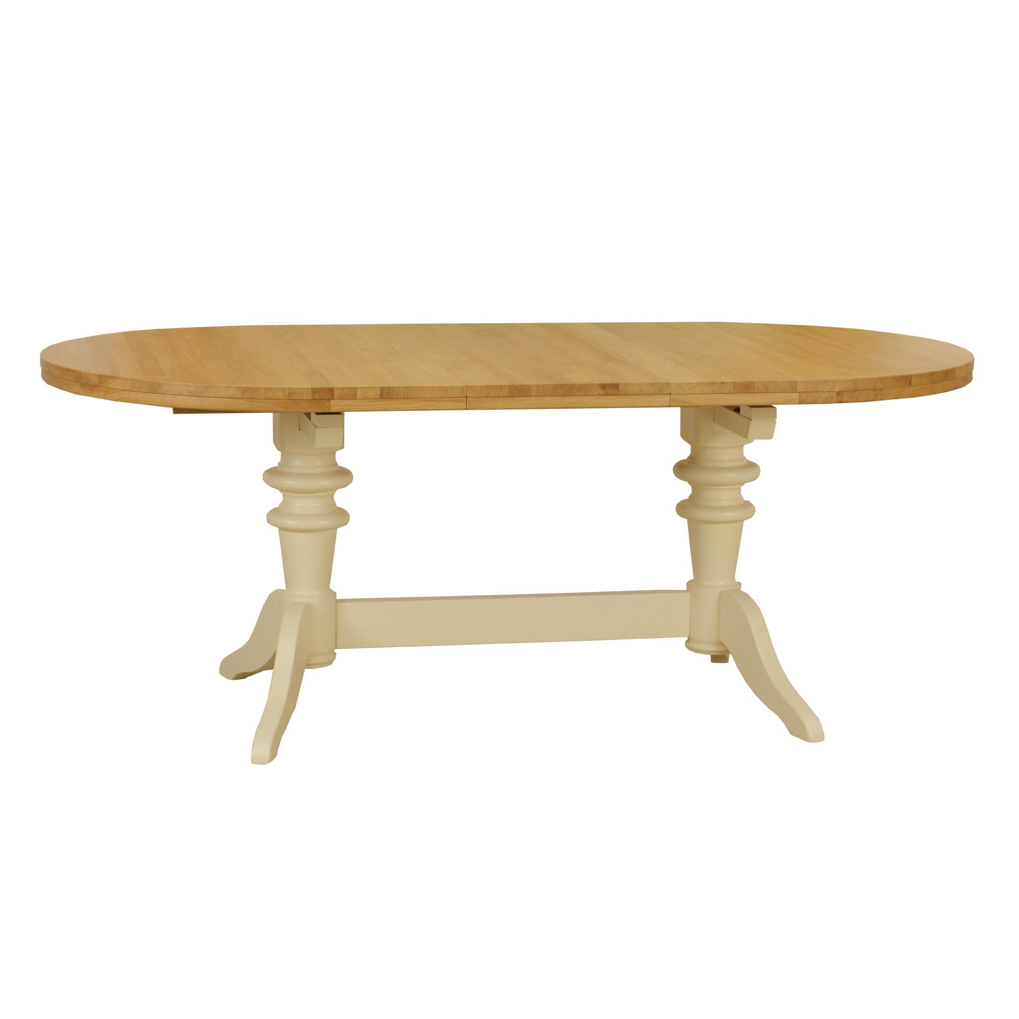 Coelo - COL 125  Double Pedestal Extending Dining Table