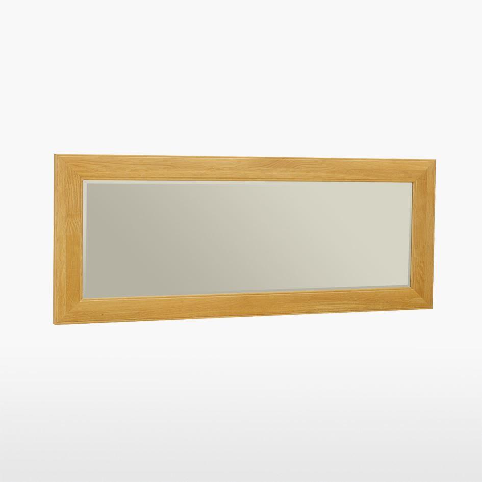 Reims - Large Oak Mirror - REM824