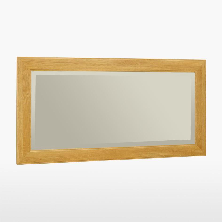 Reims - Medium Oak Mirror - REM823