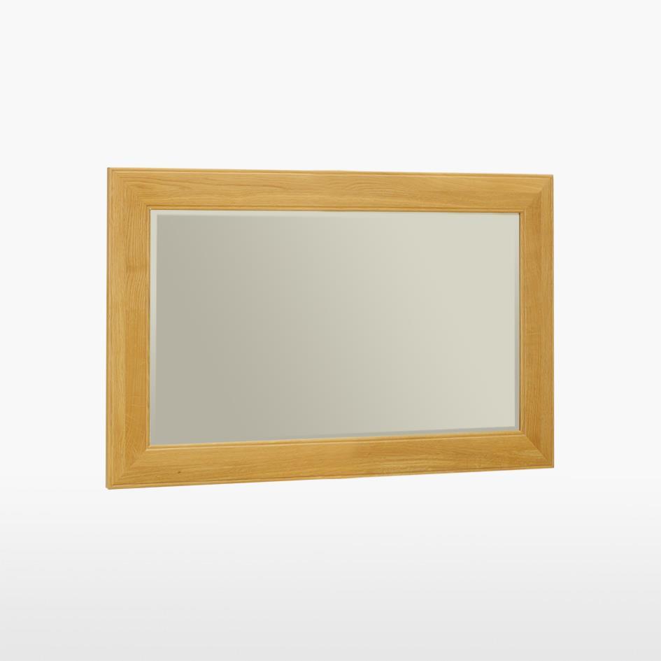 Reims - Small Oak Mirror - REM822