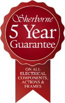 Sherborne Electric Beds - 5 Year Warranty -