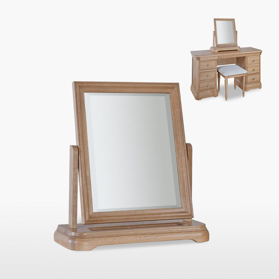 LAMONT - Oak Dressing Table Mirror -LAM817