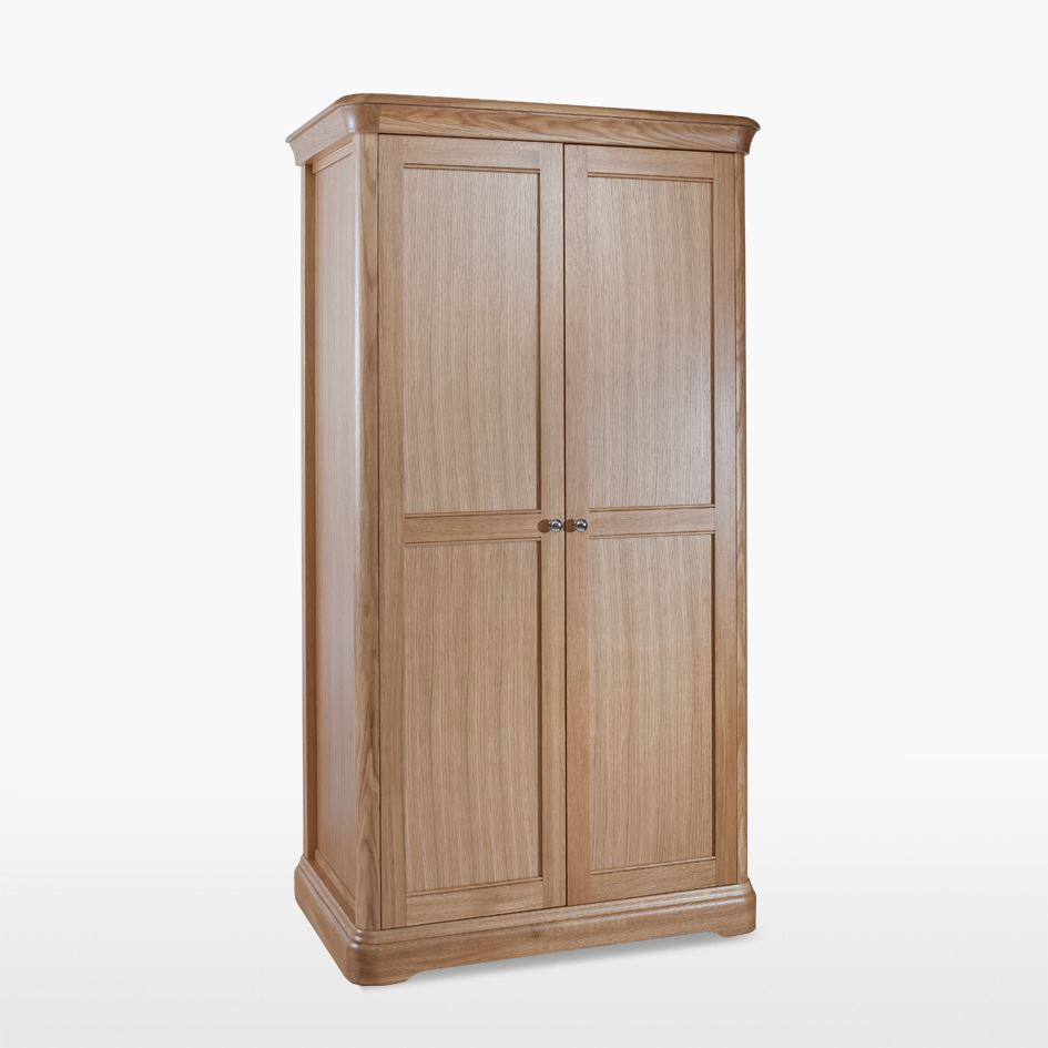 LAMONT - Oak All Hanging Robe Wardrobe - LAM812