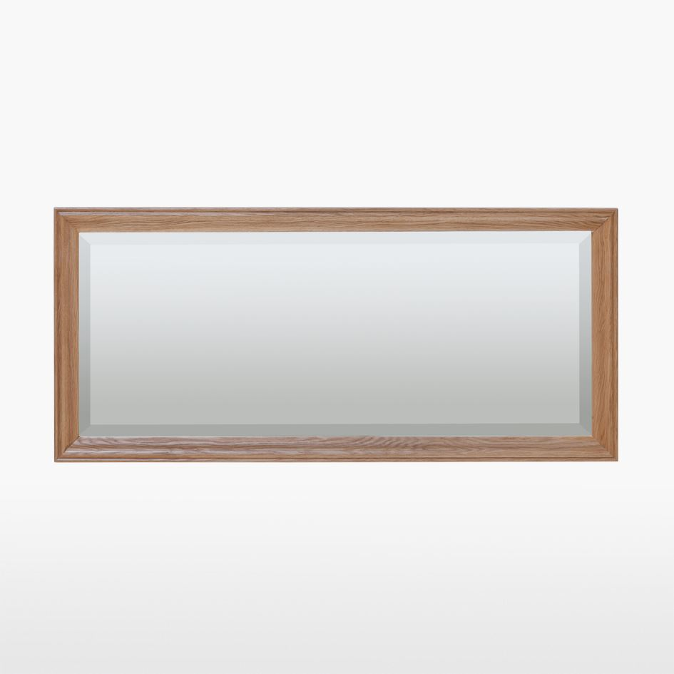 LAMONT - Oak Large Wall Mirror - LAM818