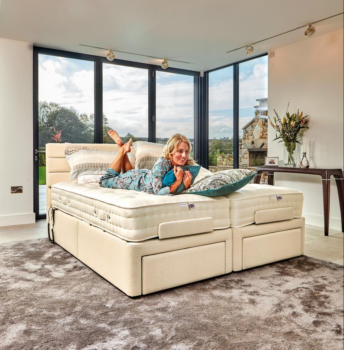 DORCHESTER Electric Adjustable Bed by Sherborne