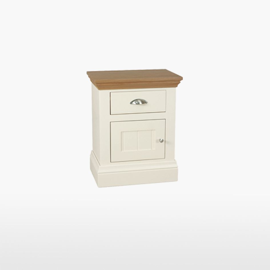 Coelo - Small 1 Drawer 1 Door Bedside - COL827L / R