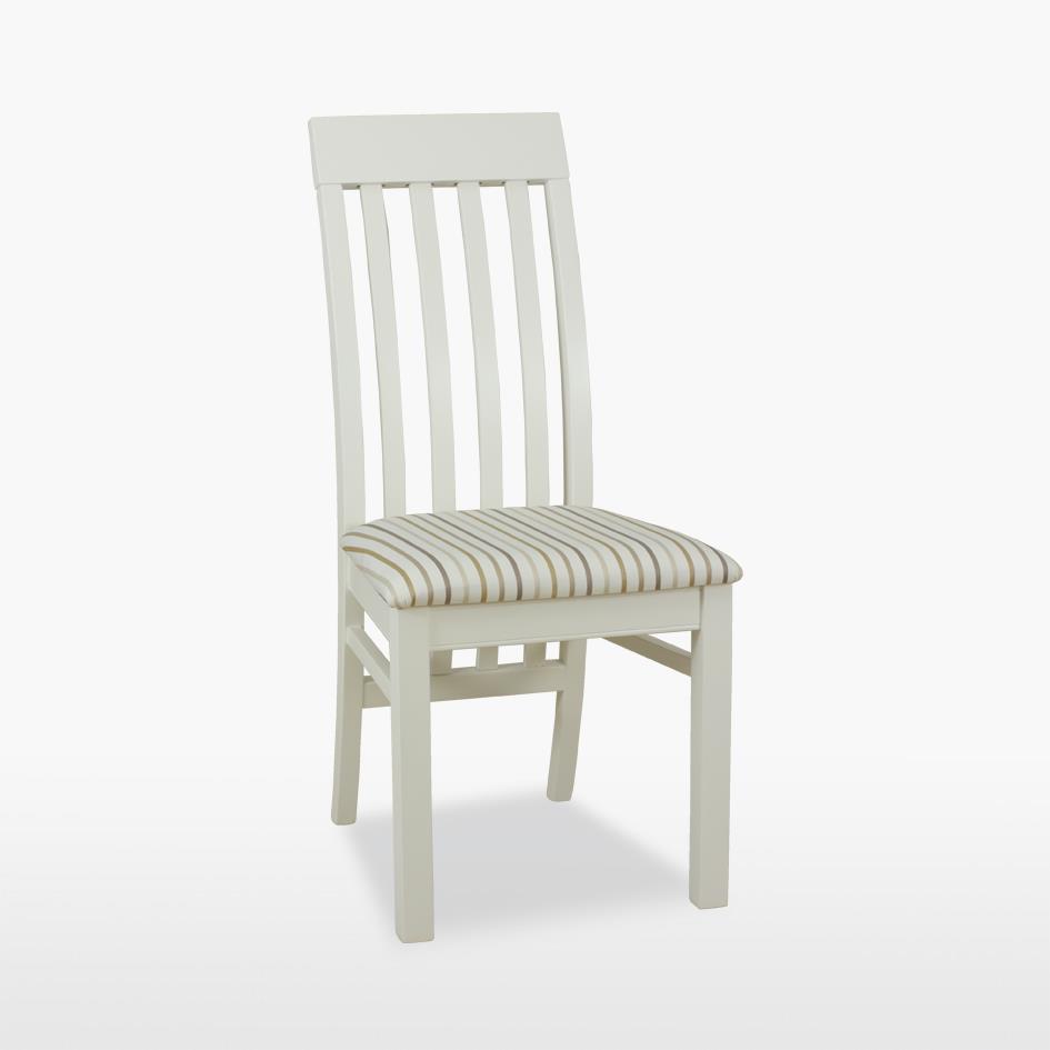 Coelo - Savona Slat chair with Fabric seat