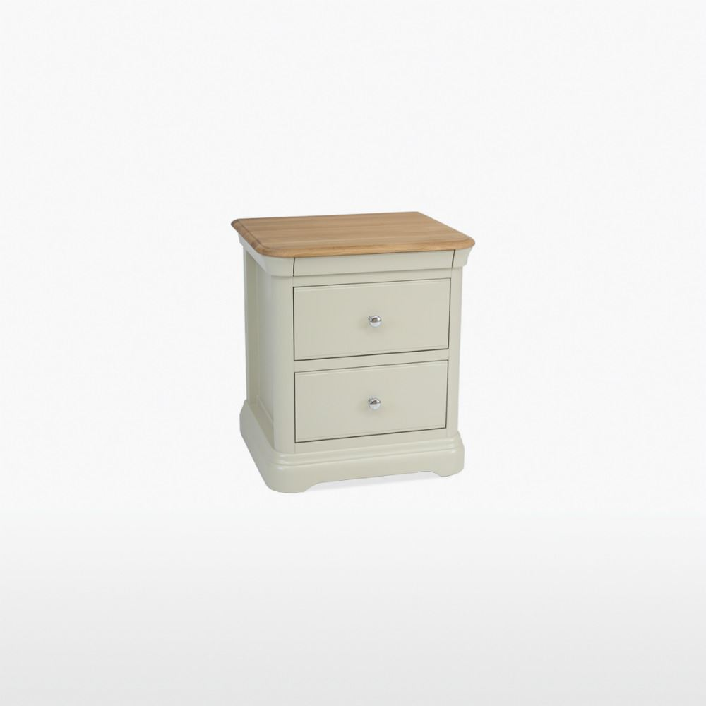 CROMWELL - 2 Drawer Bedside - CRO801