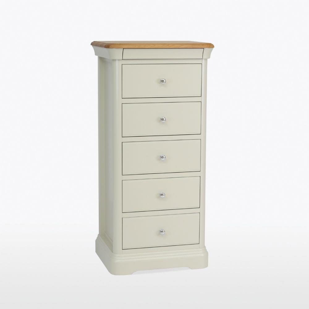 Cromwell - 5 Drawer Tall Narrow Chest - CRO802