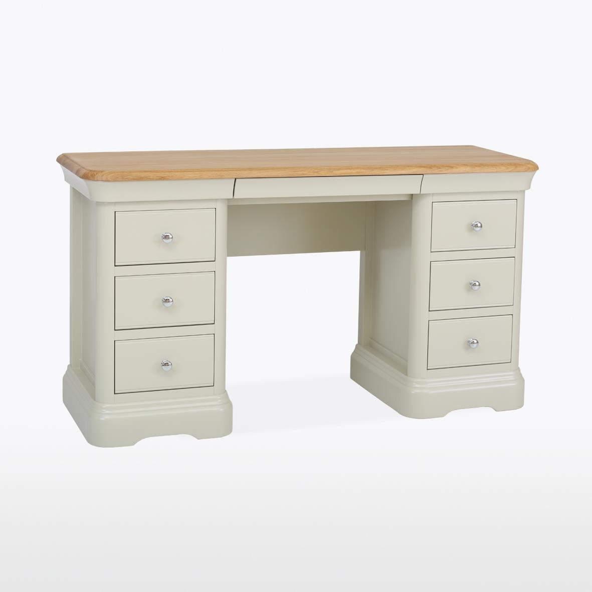 CROMWELL - Double Pedestal Dressing Table  CRO815