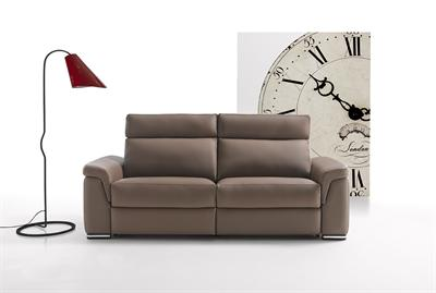 Gala Leather 2 Seater Sofa.