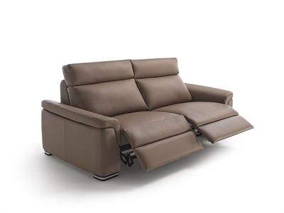 GALA Leather 1, 2 or 3 Seater Reclining Sofa.