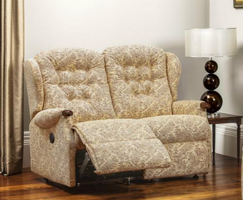 LYNTON Knuckle - 2 Seater Reclining Settee