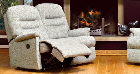 KESWICK - 2 Seater Reclining Settee - by Sherborne