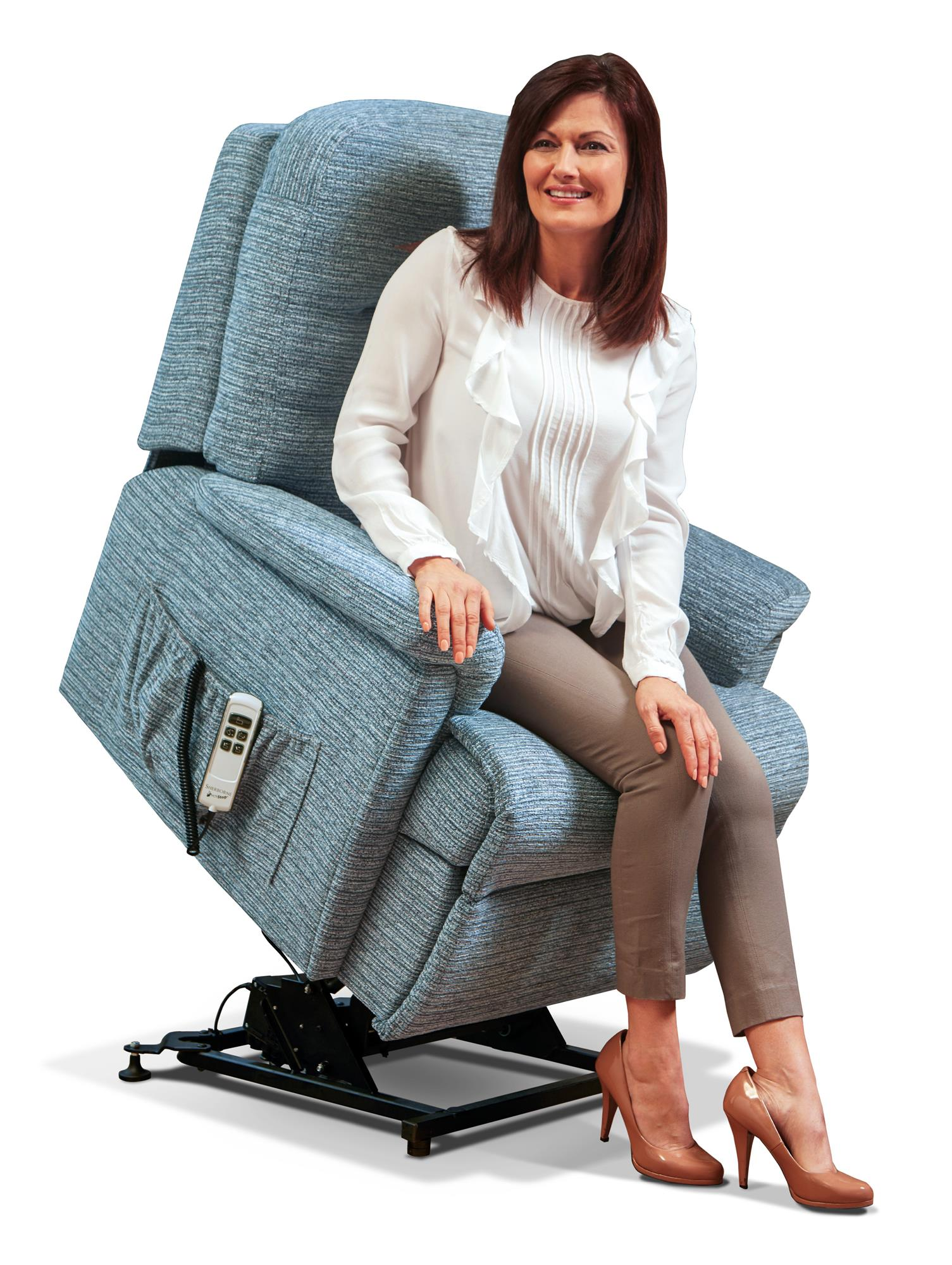KESWICK -  Care Lift & Rise Chair - by Sherborne